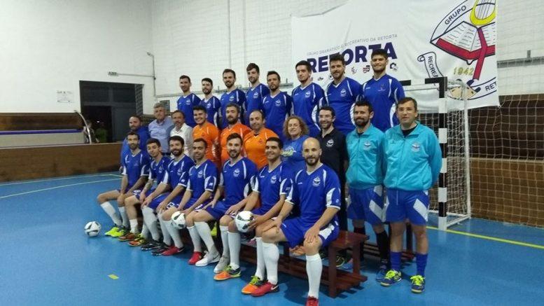 Retorta vai disputar nacional da segunda divisão em futsal - a33a9695d714d