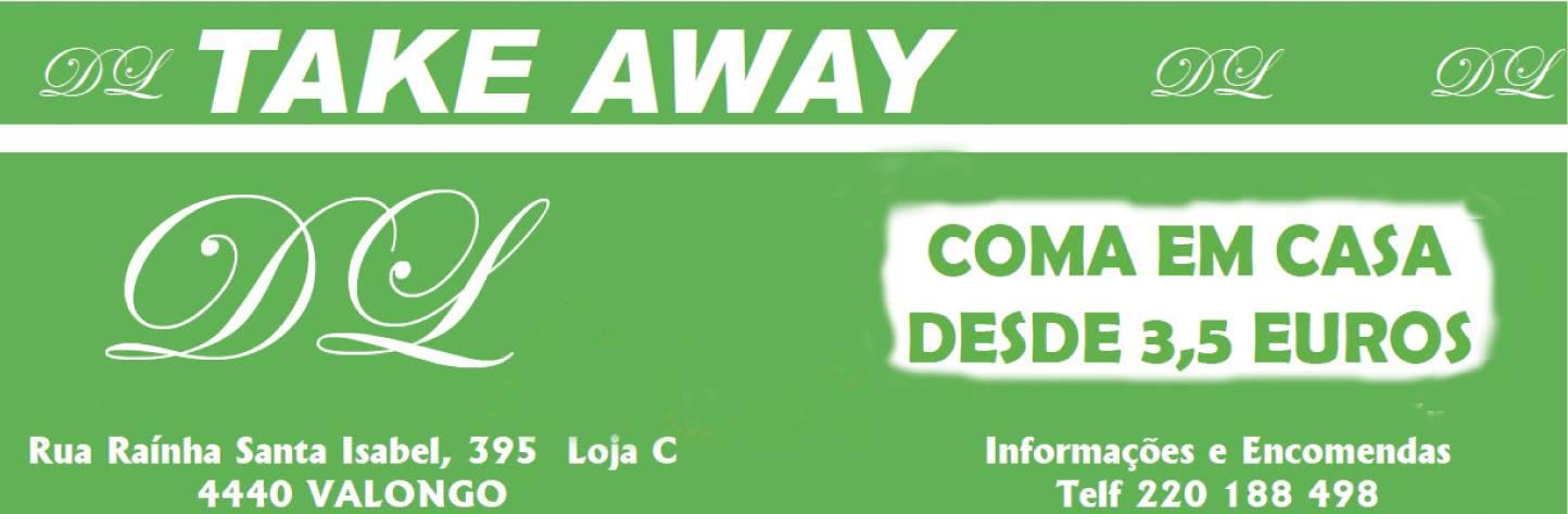 Take Away DL - Coma em casa desde 3,50€
